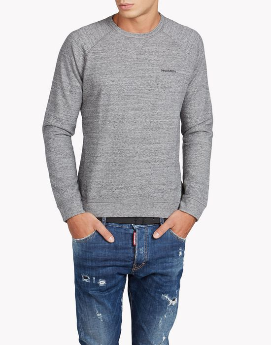 muscle fit sweatshirt tops & tees Man Dsquared2