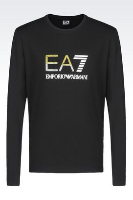 Armani Long sleeved t-shirts Men jersey t-shirt