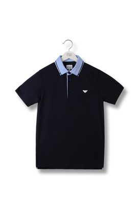 Armani Polos Men polo shirt in cotton pique