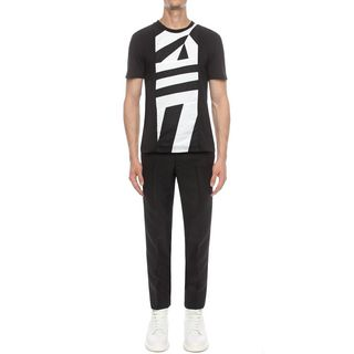 ALEXANDER MCQUEEN, T-shirt, Dazzle Patchwork T-Shirt