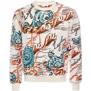 ALEXANDER MCQUEEN, Sweatshirt, Legendary Creature Printed Sweatshirt