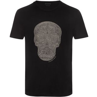 ALEXANDER MCQUEEN, T-shirt, Skull Embroidered T-Shirt
