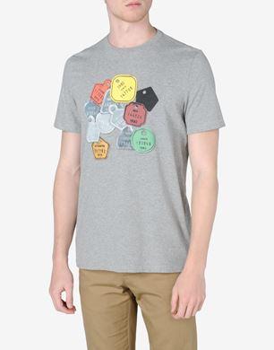 Luggage tag' printed T-shirt