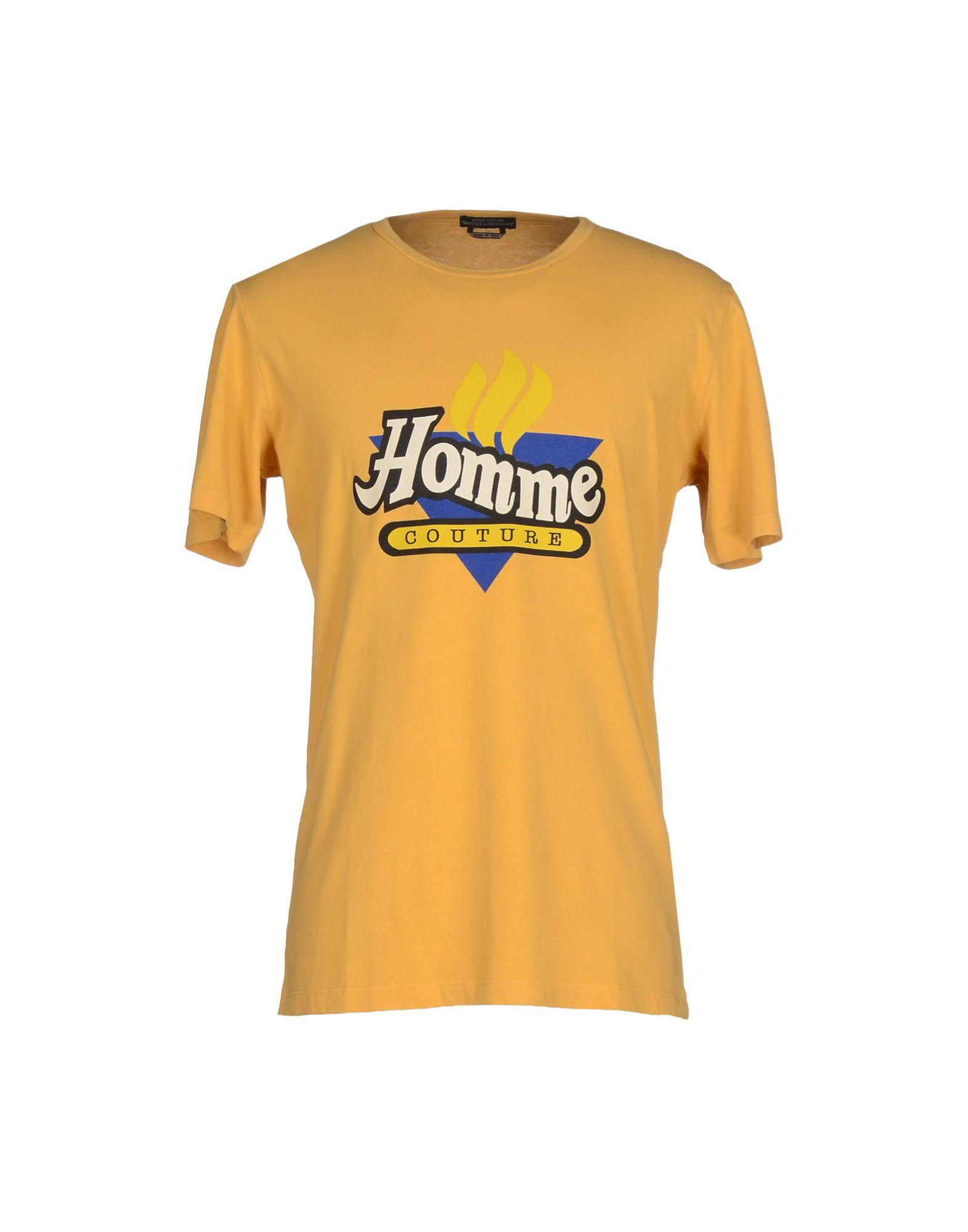 DANIELE ALESSANDRINI HOMME T-shirts