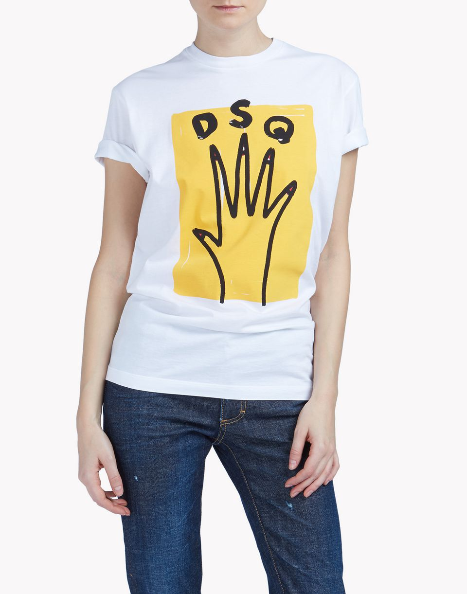 t-shirt tops & tees Man Dsquared2