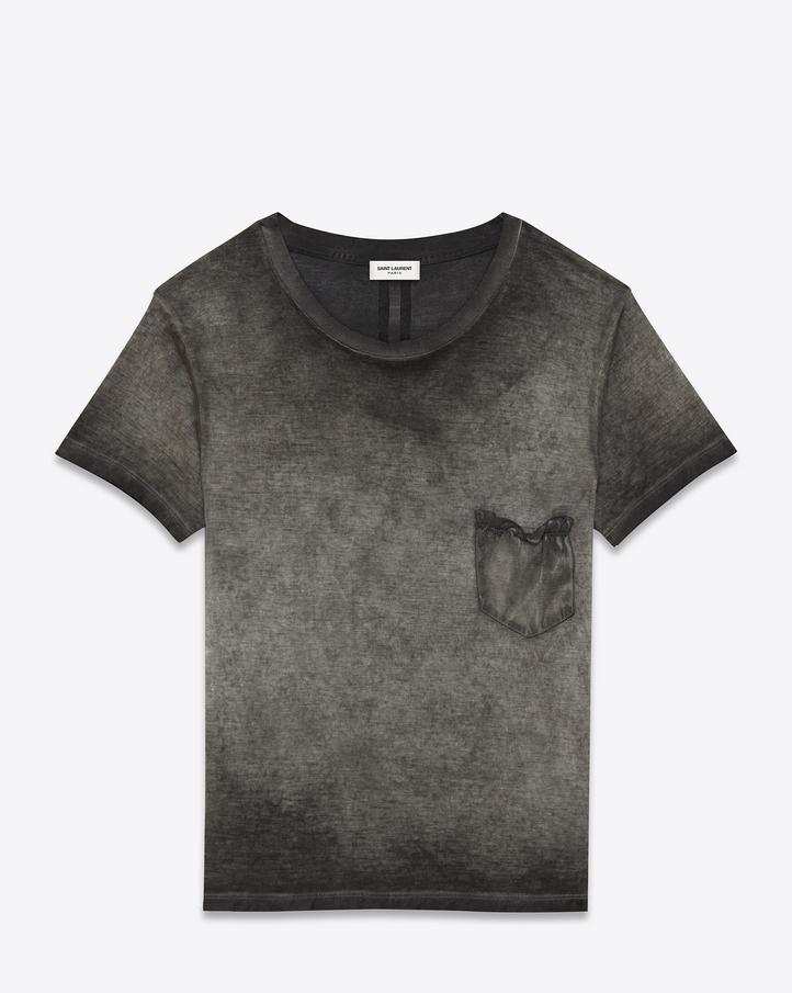 Ysl yves saint laurent tops t shirts saint laurent handbag for Saint laurent t shirt