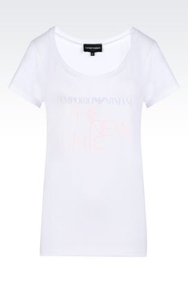 Armani T-shirt maniche corte Donna t-shirt in jersey