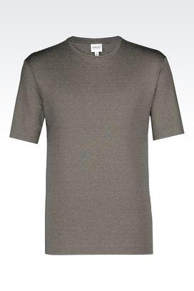 Armani Print t-shirts Men t-shirt in viscose blend