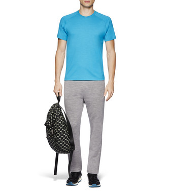 ZZEGNA: Techmerino T-Shirt  Bright blue - 37831820HI