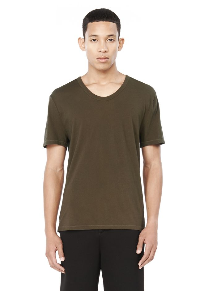 LOW NECK SHORT SLEEVE TEE