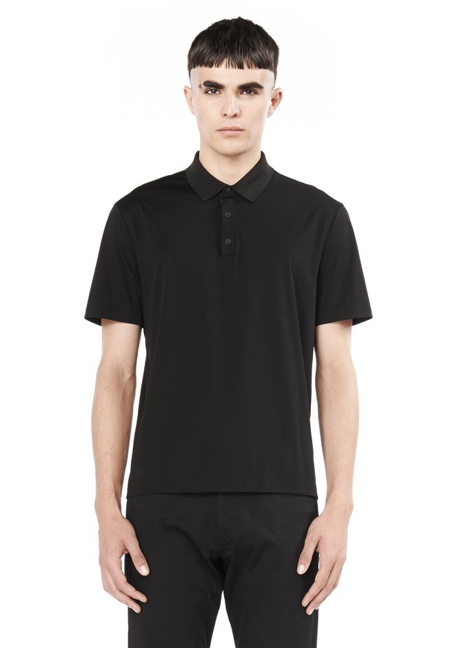T by ALEXANDER WANG t-by-alexander-wang-sale SHORT SLEEVE POLO SHIRT