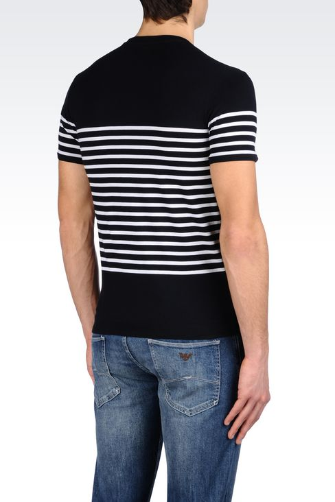 JERSEY T-SHIRT: Print t-shirts Men by Armani - 3