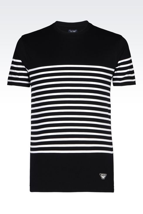 JERSEY T-SHIRT: Print t-shirts Men by Armani - 1