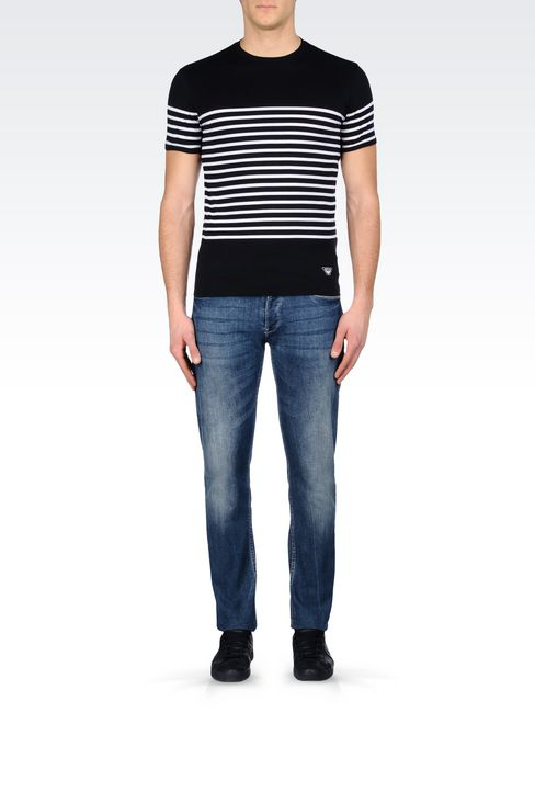 JERSEY T-SHIRT: Print t-shirts Men by Armani - 2