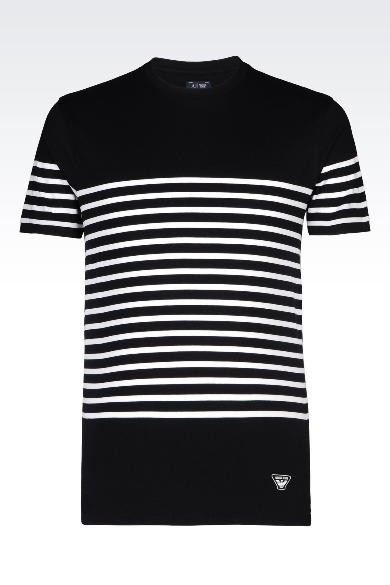 JERSEY T-SHIRT: Print t-shirts Men by Armani - 0