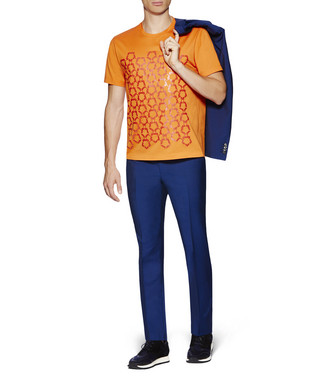 ZZEGNA: T-Shirt  Orange - 37843010JA