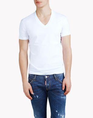 DSQUARED2 Short sleeve t-shirt U S71GD0325S22427100 f