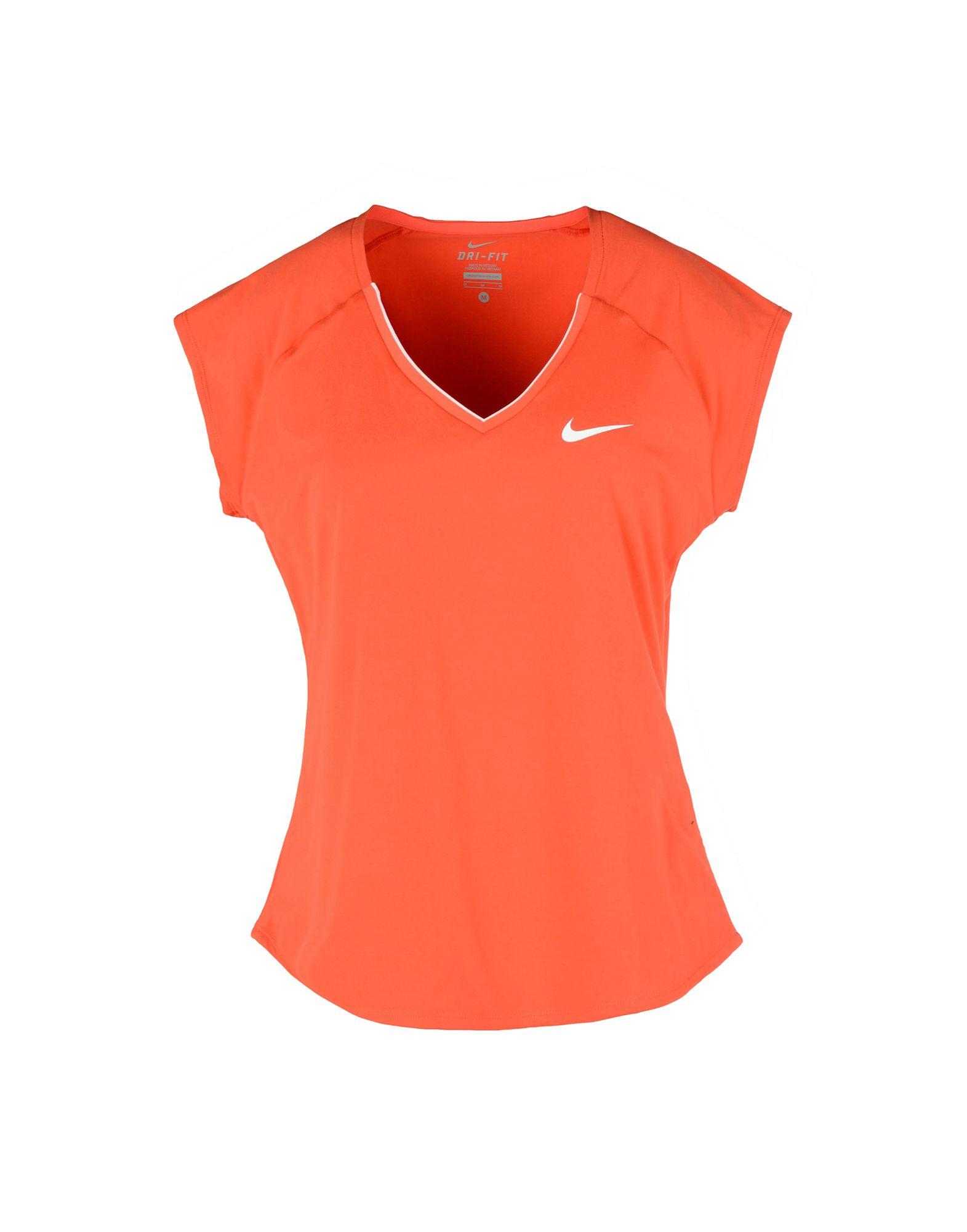 NIKE Damen T-shirts Farbe Rot Größe 6