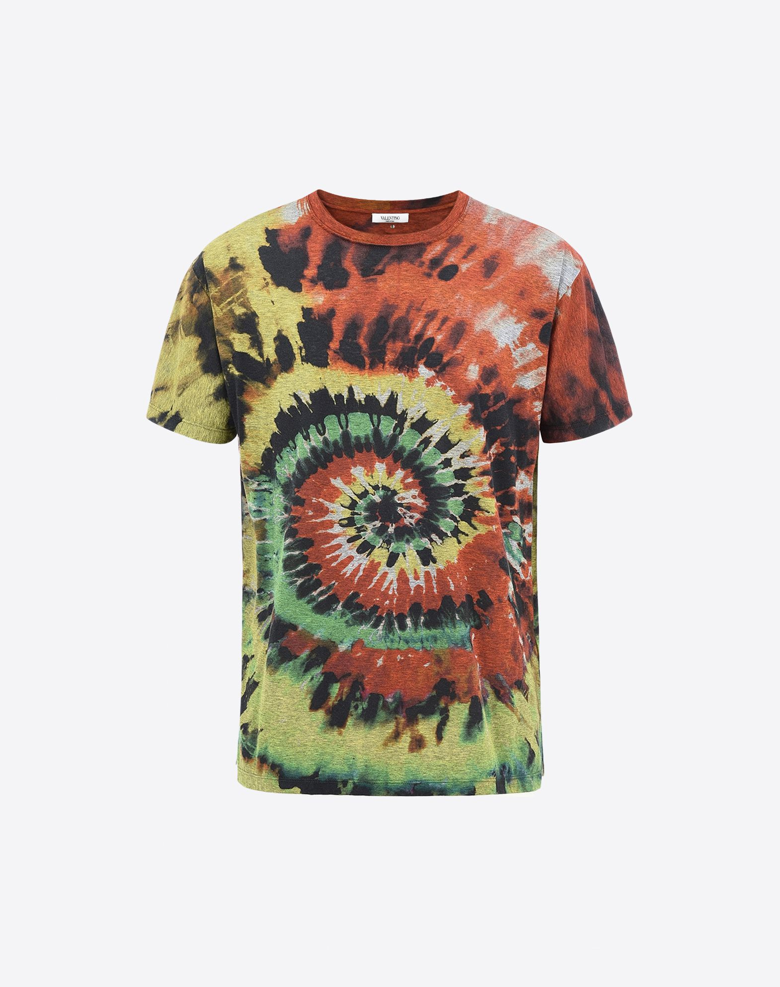 Valentino uomo tie dye print t shirt t shirts for men for Tie dye printed shirts