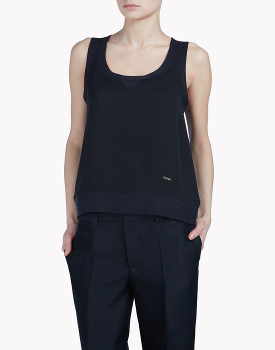 silk top tops & tees Woman Dsquared2