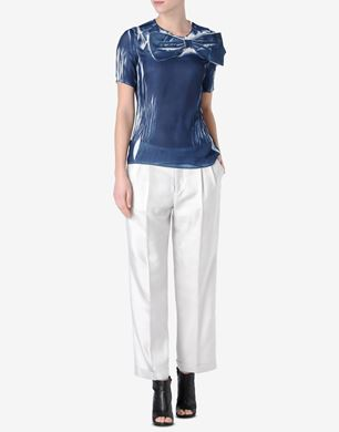 Maison Margiela Pleated T-shirt with oversized bow