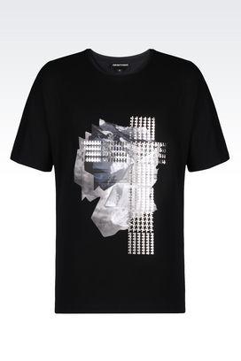 Armani Short-sleeve t-shirts Men jersey t-shirt