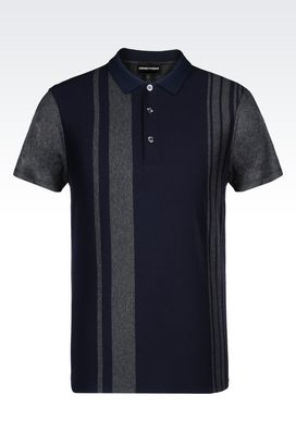 Armani Short-sleeved polo shirts Men jersey polo shirt