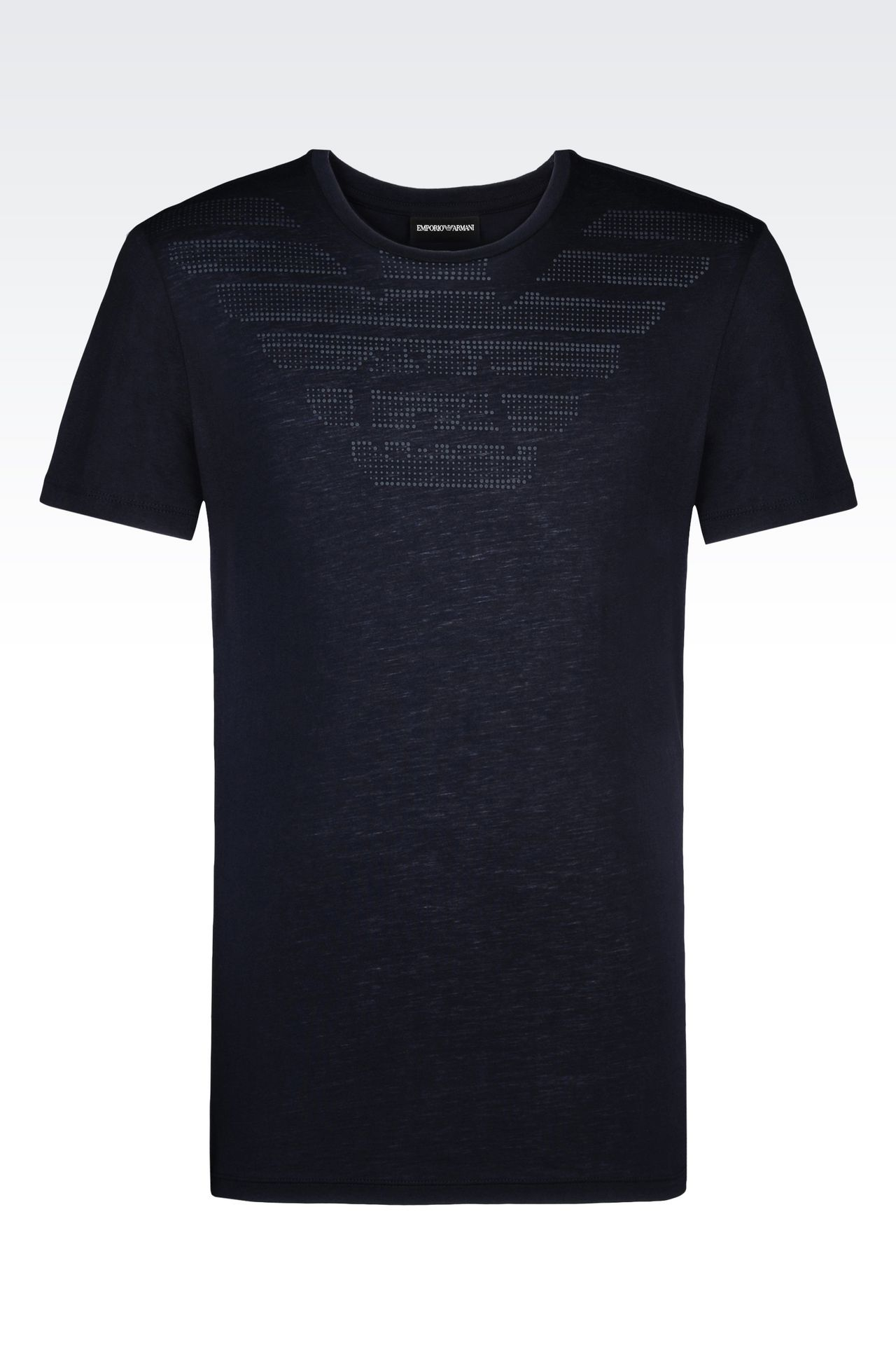 emporio armani men jersey t shirt cotton. Black Bedroom Furniture Sets. Home Design Ideas