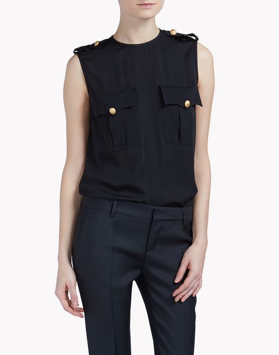 sleeveless top tops & tees Woman Dsquared2