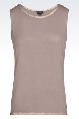 Armani Crewneck sweaters Women jersey t-shirt