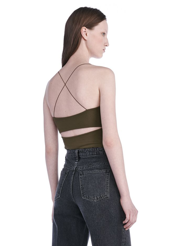 T by ALEXANDER WANG TOPS Women CUTOUT MODAL CAMI TOP