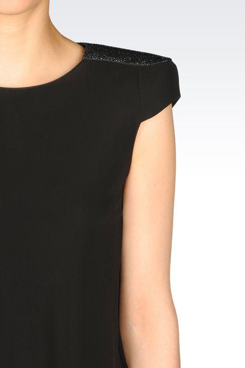 JERSEY T-SHIRT: Print t-shirts Women by Armani - 4