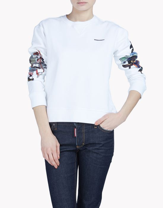 diana fit sweatshirt tops & tees Woman Dsquared2