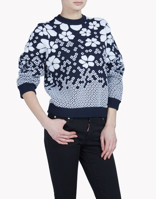 pullover tops & tees Woman Dsquared2