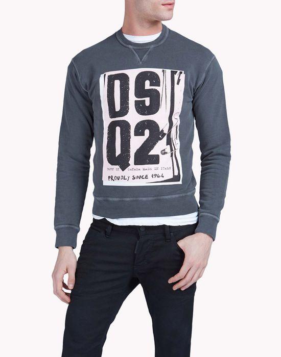 dean fit sweatshirt tops & tees Man Dsquared2