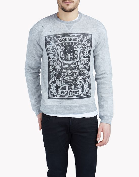 classic raglan fit sweatshirt tops & tees Man Dsquared2