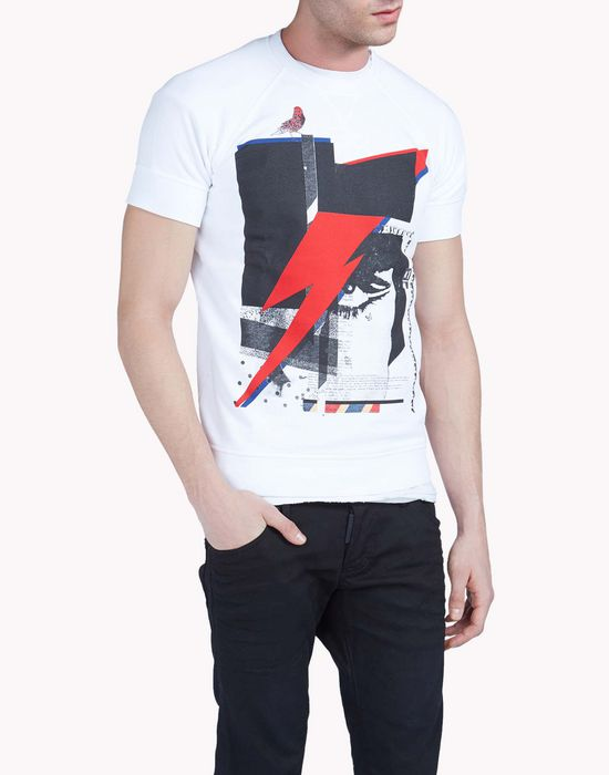 sexy muscle fit sweatshirt tops & tees Man Dsquared2
