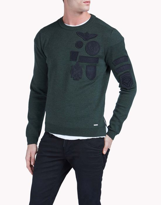 round neck sweater tops & tees Man Dsquared2