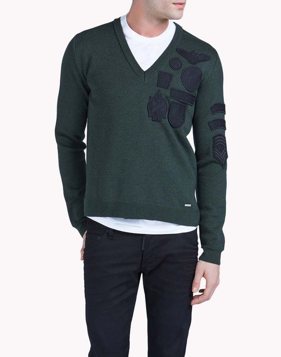 v neck sweater tops & tees Man Dsquared2