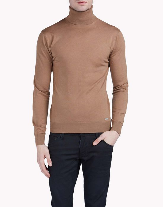 turtle neck sweater tops & tees Man Dsquared2