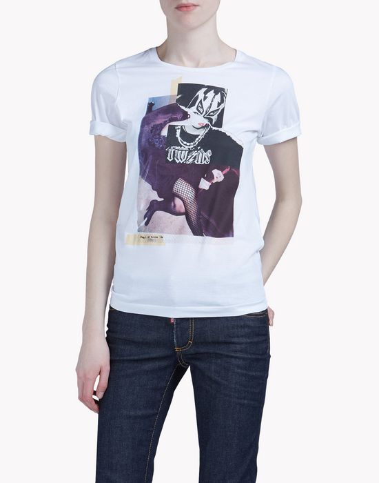renny fit t-shirt tops & tees Woman Dsquared2