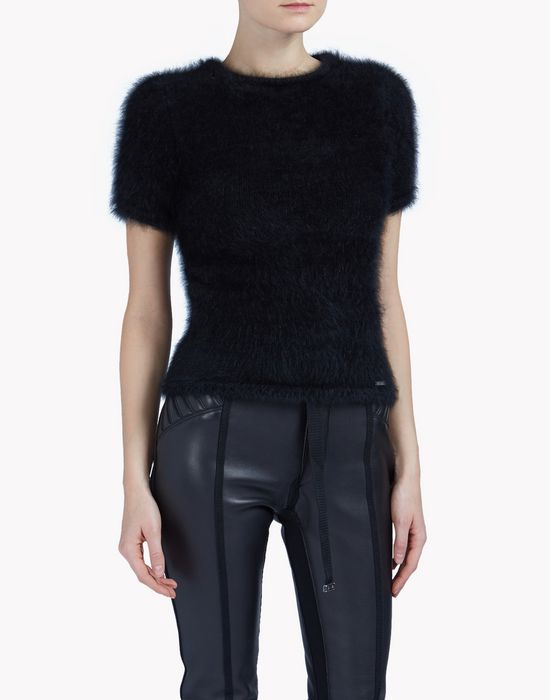 round neck sweater tops & tees Woman Dsquared2