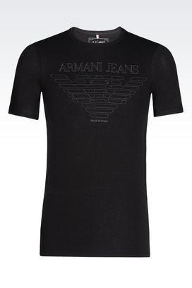Armani Tshirt stampate Uomo t-shirt e felpe