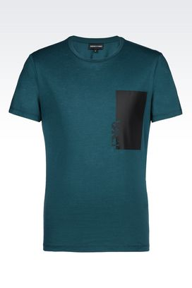 Armani Short-sleeve t-shirts Men jersey t-shirt