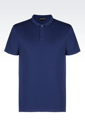 Armani Long-sleeved polo shirts Men t-shirts and sweatshirts