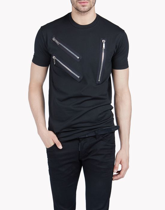 long cool fit t-shirt tops & tees Man Dsquared2