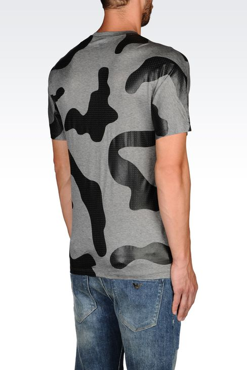 JERSEY T-SHIRT: Short-sleeve t-shirts Men by Armani - 3