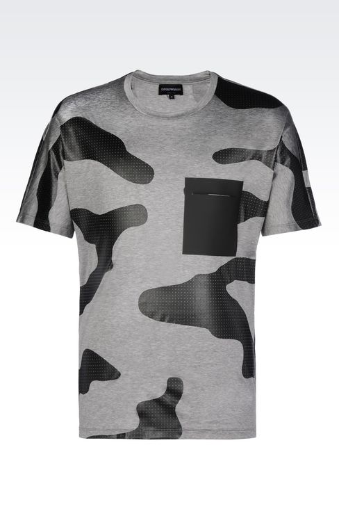 JERSEY T-SHIRT: Short-sleeve t-shirts Men by Armani - 1