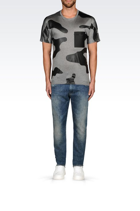 JERSEY T-SHIRT: Short-sleeve t-shirts Men by Armani - 2