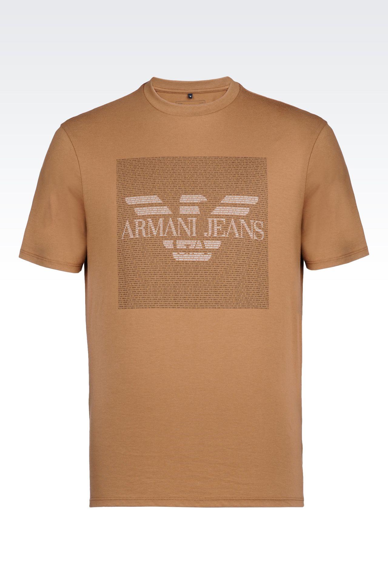 armani jeans men jersey t shirt cotton. Black Bedroom Furniture Sets. Home Design Ideas